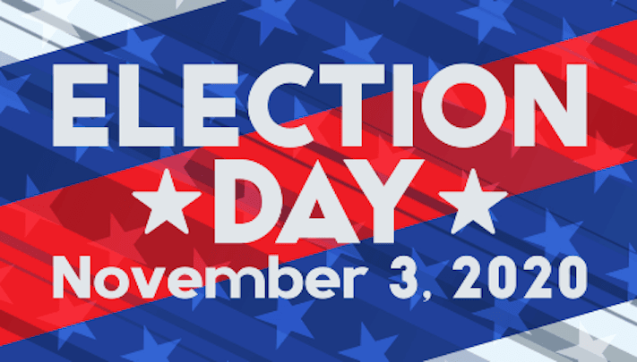 County Website Election Day Image