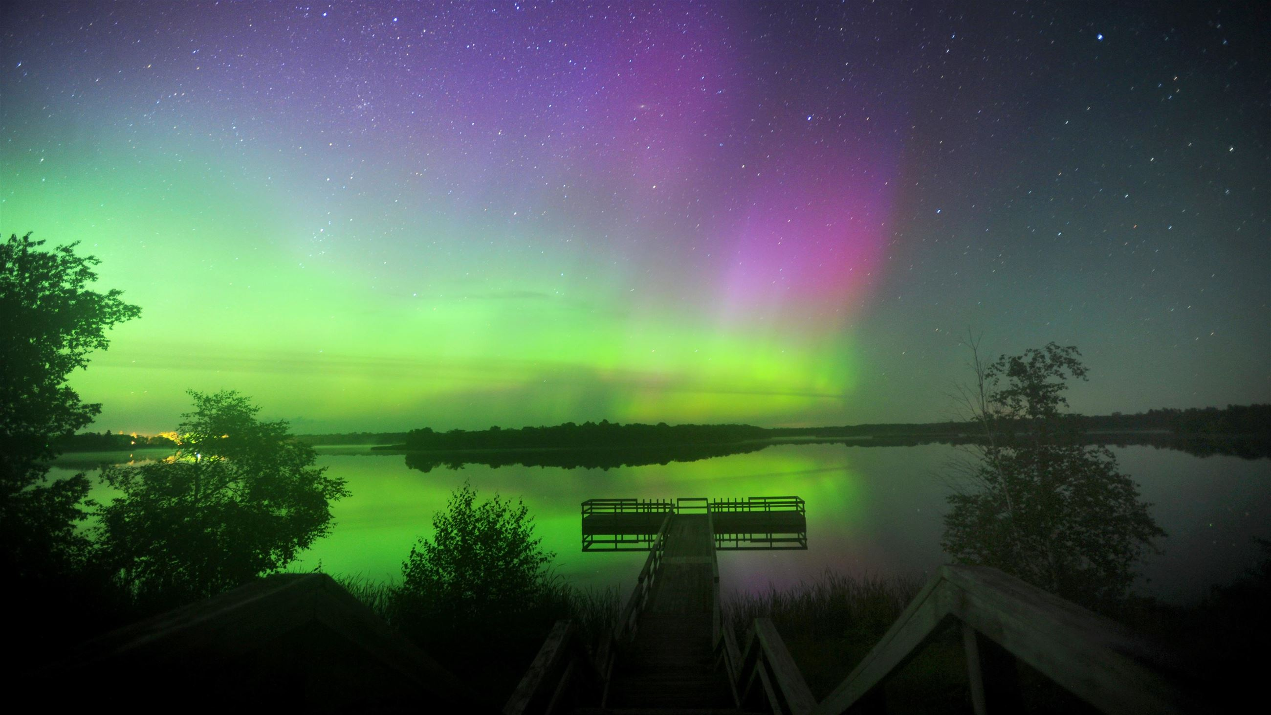 northern lights, Kittson County